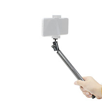 FEICHAO Handheld Selfie Stick with 1/4 Standard Screw Compatible with Insta360 ONE R/GOPRO 9 8 MAX/DJI Osmo Action Camera, D20mm Buoyancy Aquatic Arm Diving Photography Accessory