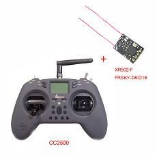 In stock Jumper T-Lite 16CH Hall Sensor Gimbals CC2500/JP4IN1 Multi-protocol RF System OpenTX Mode2 Transmitter with XR502-F FRSKY-D8/D16/ XR502-F1 FRSKY-D8/ SFHSS 8CH XR602T-S Receiver