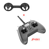 In stock Jumper T-Lite 16CH Hall Sensor Gimbals CC2500/JP4IN1 Multi-protocol RF System OpenTX Mode2 Transmitter with 3D Printed TPU Rocker Cover