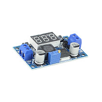 FEICHAO LM2596S DC-DC Step-Down Power Supply Module with LED Display 3A Adjustable High Efficiency 4.0~40V to 1.25V~37V Buck Converter Voltage Regulator