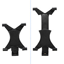 FEICHAO Universal 1/4 Thread Adapter Tripod Mount Phone Tablet Clip Holder for 7.9-10inch Tablet Smartphone Adapter Clamp Stand