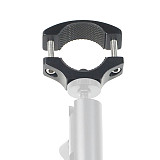 BGNing Bike Motorcycle Handlebar Mount Holder Clip for Gopro 9 8 Max Insta360 ONE R for Osmo Action Camera