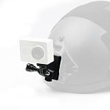 BGNING Upgraded Aluminum Alloy Helmet Mount Base Adapter Holder for GOPRO Hero 9 8 7 4 5 6 Session yi Sjcam EKEN Action Cameras