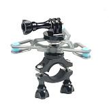 BGNING Bike Mount triangle adapter bracket shock absorber for GoPro7/8/max GoPro full range AKASO EK7000 4K