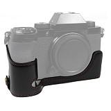 BGNING Half Protective Case Camera Bag Leather Case Half Set Base for Fuji XS10 Micro-single Camera