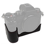 BGNING Half Protective Case Camera Bag Leather Case Half Set Base for Panasonic S5 Micro Single Camera 