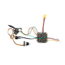 Happymodel Crazybee F4 PRO V3.1 AIO Flight Controller Built-in 12A Blheli_s ESC Betaflight OSD for Frsky RX for FPV Racing Drone