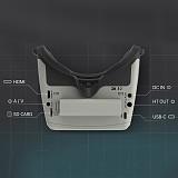 SKYZONE Cobra S 800x480 4.3inch Cobra X 1280x720 4.1inch 5.8G 48CH RapidMix Receiver Head Tracker DVR Goggles for FPV Racing RC Drone