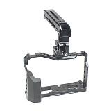 FEICHAO BTL-FT4 Aluminum Alloy XT4 Camera Cage Camera Case Frame Grip Light Filling Lamp Multi-function Top Handle for Fuji XT4