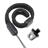 FEICHAO Aluminum Alloy Hand-tightening Screw Lanyard Screw Camera Ring Screw for Selfie Stick Handle Camera Cage Sports Camera for Sony for Fuji for SLR