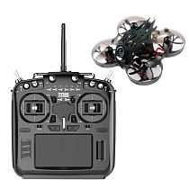 RadioKing TX18S/Lite Hall Sensor Gimbals 2.4G 16CH Multi-protocol RF System OpenTX Transmitter w/ Happymodel Moblite7 Mobula6 Mobula7 1S 75mm Ultra Light Brushless Whoop