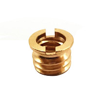 BGNING 1/4  Female to 3/8  Male Conversion Tripod Head Thread Adapter Screw 7.5mm for Action Digital Camera Accessories