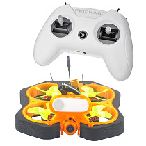 Happymodel CINE8 85mm Brushless Cinewhoop DIY Drone Kit SPI Version EX1202.5 8000 KV Motors 4in1 ESC with LiteRadio Remote Control 8CH Radio