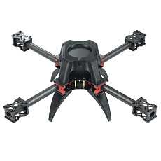 FEICHAO H383 383mm Carbon Fiber Frame with 3D Printing Canopy for 920-1400kv Motor 9inch Propeller FPV Racing Drone Spare Parts