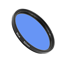 BGNing 52mm 58mm Ultra Slim Blue Orange Red Yellow Color Glass Filter For SLR Cameras Lens for GoPro Hero 8 Camera Accessories