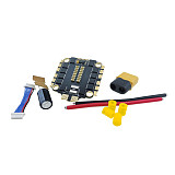 FEICHAO New 60A Blheli_32 2-6S 4 In 1 Dshot1200 UBEC Brushless ESC for RC FPV Racing Drone Helicopter RC Toys Models