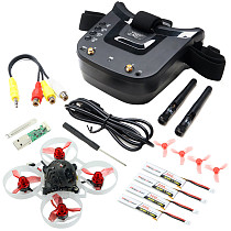 JMT RC Drone Combination kit 3inch 480 x 320 Display Mini FPV Goggles w/ Happymodel Mobula6 Moblite6 Moblite7 1S Betafpv 1s HX100 SE BT2.0 4-axis Optional