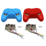 FEICHAO DIY 2.4G tank robot battle remote control 8 channel remote motor controller Suitable for Beginners