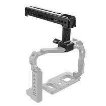 Top Side Cheese Handle Grip NATO Rail Handgrip Arri 1/4  Cold Shoe Mount for Balance Adjustable Camera Cage Rig Monitor Lights