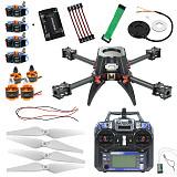 JMT DIY H383 383mm Carbon Fiber Frame 920KV Motor 30A ESC APM2.8 FPV PIX Flysky FS-i6 1200TVL2.1mm PAL 5.8G Transmitter For RC Racing Drone Quadcopter
