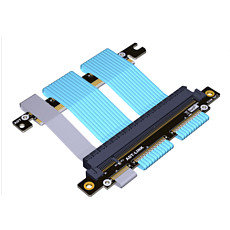 ADT-Link PCIe 4.0 16X to 16X Adapter For ITX Motherboard Case Double Reverse Graphics Card Extension A4 Chassis Cable PCI-e 4.0