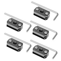 5PCS/lot Monitor Mounting Plate with 1/4 Threaded Hole Gimbal Extension Mount for DJI Ronin S/SC Handheld Gimbal Accessories