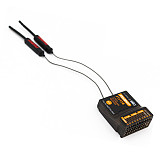 FlySky FTr12B 12-Channel Three-Generation Protocol Two-Way Dual-Antenna Receiver PWM PPM i.BUS S.BUS Output For RC Planes Fixed-Wing Drone