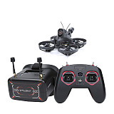 IFlight RTF Alpha A75 Analog Whoop 20A F4 Whoop AIO 300mW 78mm Brushless 3S Tinywhoop iF8 Remote Controller DVR FPV Goggles for RC Drone