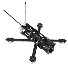 JMT F220 220mm Wheelbase 5inch X Type Carbon Fiber Quadcopter Frame Kit Support BN-220GPS For FPV Freestyle RC Racing Drone