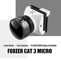 FOXEER CAT3 HS1259 MICRO Camera 22mm/19mm Professional Night Vision Camera Low Shot 0.00001LuX for Drone FPV Accessories