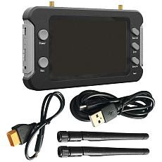 JMT VGA/D1/HD VGA/D1/HD Recording Support Replay 4.3inch 5.8G 48CH FPV HD Monitor Aerial FPV Display Screen for DIY RC FPV Racing Drone