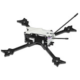 JMT F215 215mm 5inch Carbon Fiber Quadcopter Frame with 5mm Arm Support 2204-2306 Motor For FPV Freestyle RC Racing Drone