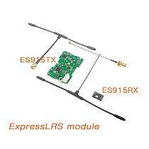 Happymodel ExpressLRS ES915TX ES915RX 915Mhz Long Range Module for Radiomaster TX16S Jumper T12 T16 T18 FPV Micro Mini Long Range Drones