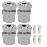 FEICHAO 4PCS/lot 12mm to 17mm Wheel Hex Conversion Adapter For Arrma Traxxas Redcat HPI HSP Kysho 1/10 RC Model Car DIY Upgrade