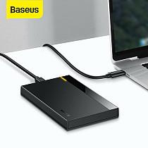 Baseus New 2.5  HDD SSD Case SATA to USB 3.0 Type C Disk Hard Drive Box Enclosure Docking Station