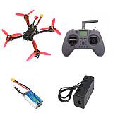 JMT X220 220mm 5inch Frame DIY RC Racing Drone Kit PNP/ BNF F4 V2 Flight Controller 2205/2306 Motor  FLYSKY/JUMPTER T-LTE Remote Controller 1200TVL FPV Camera