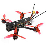 JMT F220 220mm Wheelbase 3-4S 5inch FPV Racing Drone with Razer Micro 1200TVL Camera 7-10 Minutes Flight Time RC Quadcopter