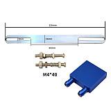 XT-XINTE Aluminium Aolly Water Cooling Heatsink Block Waterblock Radiator Liquid Cooler For Desktop CPU Graphics Card