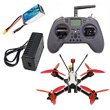 JMT F215 215mm Wheelbase 5inch 3-4S RC FPV Racing Drone Built-in OSD Betaflight with BLHeli-S 45A 4in1 ESC Razer/Ratel 2 Camera