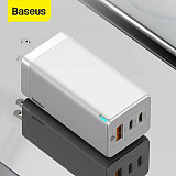 Baseus New 65W USB QC 4.0+ Type C PD3.0 Fast Wall Charger Adapter for iPhone 12 Mini