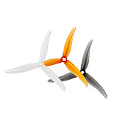 2/4Pairs GEMFAN SL 5130 3 Blade 1.5mm&2mm 3 Inch PC Propeller for 2004-2203 Motors FPV Racing Drone Quadcopter RC Models Toys Spare Parts
