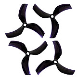 GEMFAN 2/4 Pairs D90 3 Blade 1.5mm&2mm 3 Inch PC Propeller for 2203-2306 Motors FPV Racing Drone Quadcopter RC Models Toys Spare Parts