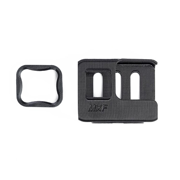 (Diatone) Chase is suitable for GOPRO7 adjustable dog seat black TPU suitable for MX-C3 Taycan/C25/ROMA F5/ROMA F4/ROMA L3 (40g+8g)