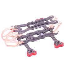 FEICHAO 2inch Four-axis Drone Toy Aircraft Frame for AlfaRC BuBu100
