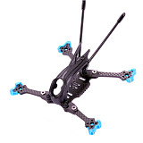 FEICHAO AlfaRC Herbie 125 75MM 3inch Toothpick Frame Kit RC Drone FPV Racing Quadcopter support 1103 1104 1105 1106 1204 Brushless Motor