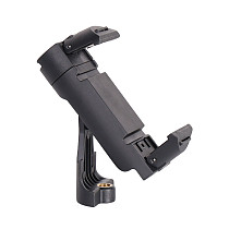 FEICHAO Universal Adjustable Tripod Mount Cell Phone Clip 1/4 Vertical Bracket Clip Clamp Holder 360°Rotation Cold Shoe Adapter