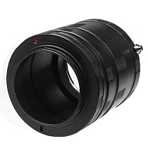 Camera Adapter Macro Close-up Mount Ring Lens Extension Tube Kit for Canon EOS for Nikon AI for Sony NEX for Fuji FX DSLR