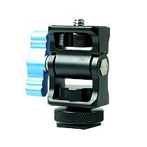 (FEICHAO) Snail PTZ Camera SLR Camera Rabbit Cage Monitor Stabilizer Hot Shoe Bracket Accessories Rotating PTZ