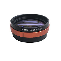 FEICHAO Universal 52mm Macro Lens 10X HD Optical Glass Camera Macro Lens with 52mm Adapter Ring for Sony for Canon DSLR Camera