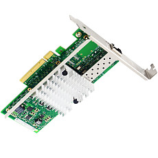 XT-XINTE 10Gb PCI-E X8 X16 Network Card 10 Gigabit SFP+ Port Ethernet Fiber NIC Card Support Windows Server, Win 7/8/10/Visa, Linux, VMware